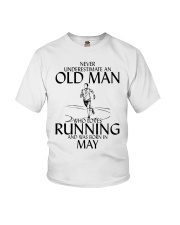 Never Underestimate Old  Man Running May Youth T-Shirt thumbnail