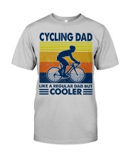 Cycling Dad Like A Normal Dad Only Cooler Classic T-Shirt front