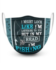 I'm Listening To You But In My Head I'm fishing  Masks tile