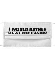 I Would Rather Be At The Casino Cloth face mask thumbnail