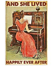And she lived happily ever after-Piano 24x36 Poster front