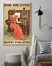 And she lived happily ever after-Piano 24x36 Poster lifestyle-poster-1