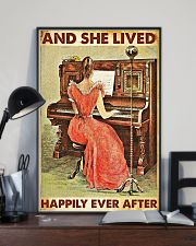 And she lived happily ever after-Piano 24x36 Poster lifestyle-poster-2
