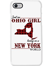 Just An Ohio Girl In New York World Phone Case thumbnail