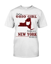 Just An Ohio Girl In New York World Classic T-Shirt front