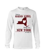 Just An Ohio Girl In New York World Long Sleeve Tee thumbnail