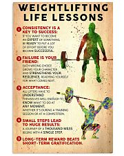 Weightlifting Life Lessons PS00130 24x36 Poster front