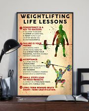 Weightlifting Life Lessons PS00130 24x36 Poster lifestyle-poster-2