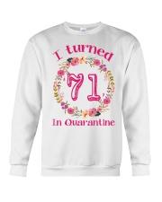71st Birthday 71 Years Old Crewneck Sweatshirt thumbnail