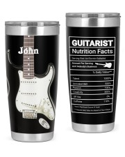 Electric Guitar Personalized Christmas Gift 20oz Tumbler front