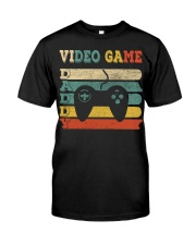 Video Game Daddy Classic T-Shirt front