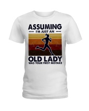 Assuming I'm Just An Old Lady Running Ladies T-Shirt tile
