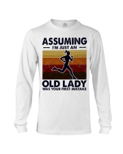 Assuming I'm Just An Old Lady Running Long Sleeve Tee tile
