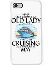 Never Underestimate Old Lady Cruising May Phone Case thumbnail