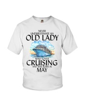 Never Underestimate Old Lady Cruising May Youth T-Shirt thumbnail