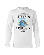 Never Underestimate Old Lady Cruising May Long Sleeve Tee thumbnail