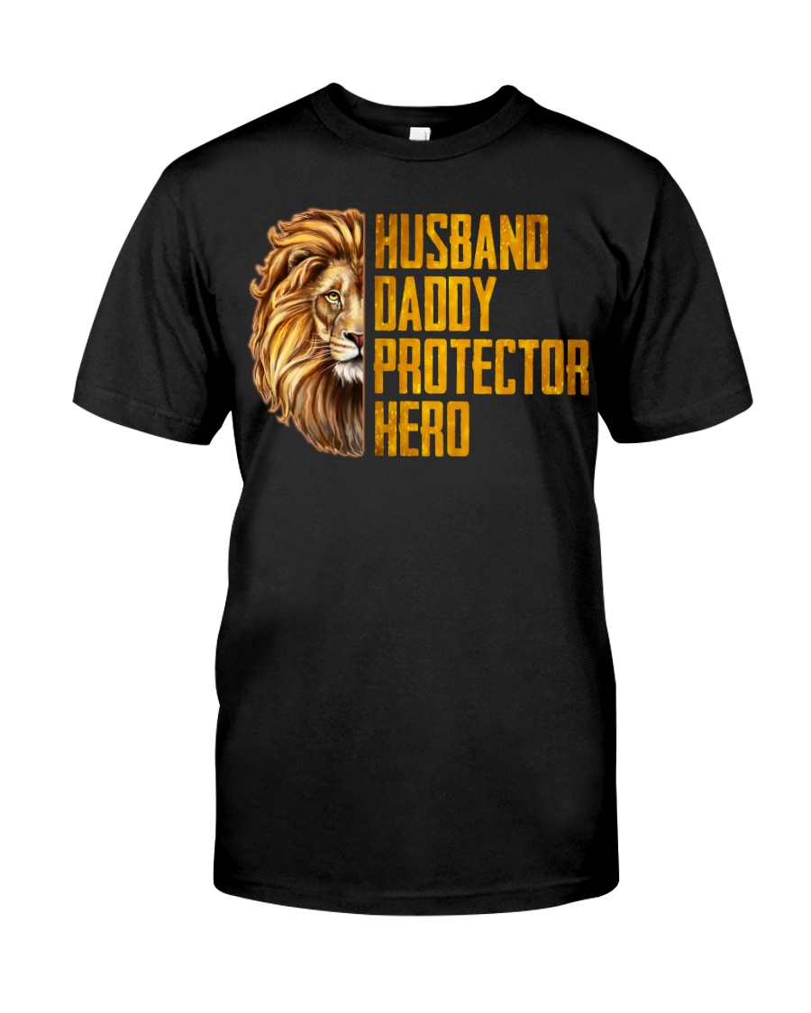 Husband Daddy Protector Hero 1 Classic T-Shirt