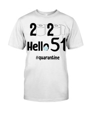 51st Birthday 51 Years Old Classic T-Shirt front