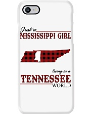 Just A Mississippi Girl In Tennessee World Phone Case thumbnail