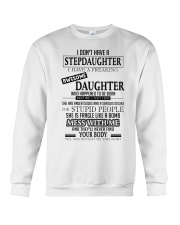 I Have A Freaking Awesome Daughter Crewneck Sweatshirt thumbnail