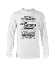 I Have A Freaking Awesome Daughter Long Sleeve Tee thumbnail