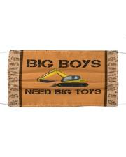Big Boys Need Big Toys Cloth face mask thumbnail