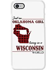 Oklahoma Girl Living In Wisconsin Phone Case thumbnail