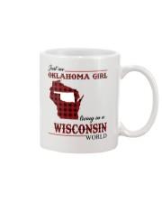 Oklahoma Girl Living In Wisconsin Mug thumbnail
