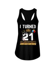 21st Birthday 21 Years Old Ladies Flowy Tank thumbnail