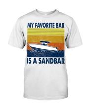 My Favorite Bar Is A Sandbar Classic T-Shirt front
