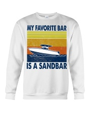 My Favorite Bar Is A Sandbar Crewneck Sweatshirt thumbnail