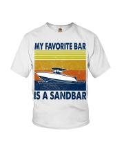 My Favorite Bar Is A Sandbar Youth T-Shirt thumbnail