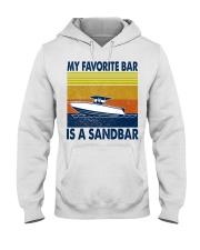 My Favorite Bar Is A Sandbar Hooded Sweatshirt thumbnail