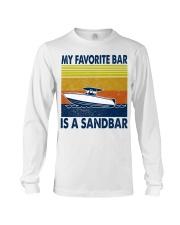My Favorite Bar Is A Sandbar Long Sleeve Tee thumbnail