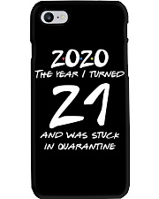 21st Birthday 21 years old Phone Case thumbnail