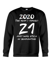 21st Birthday 21 years old Crewneck Sweatshirt thumbnail