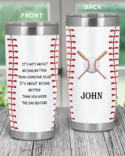 Baseball Personalized Christmas Gift 20oz Tumbler aos-20oz-tumbler-lifestyle-front-59