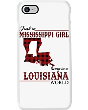 Just A Mississippi Girl In Louisiana World Phone Case thumbnail