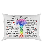 Daughter I Hugged This Soft Pillow DNA Tree Rectangular Pillowcase front