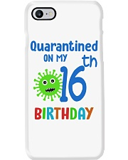 Quarantined On 16th My Birthday 16 years old Phone Case thumbnail