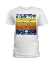 Golf  lover Ladies T-Shirt thumbnail