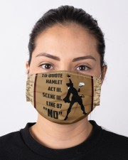 TO QUOTE  HAMLET Cloth face mask aos-face-mask-lifestyle-01
