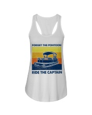 Forget The Pontoon Ladies Flowy Tank thumbnail