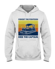 Forget The Pontoon Hooded Sweatshirt thumbnail