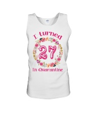 27th Birthday 27 Years Old Unisex Tank tile