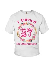 27th Birthday 27 Years Old Youth T-Shirt thumbnail