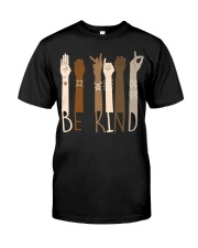 Wear it and Spread Kindness  - Be Kind Hand Sign  Classic T-Shirt front