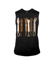 Wear it and Spread Kindness  - Be Kind Hand Sign  Sleeveless Tee thumbnail