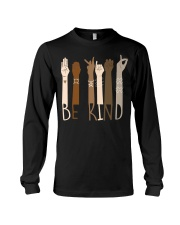 Wear it and Spread Kindness  - Be Kind Hand Sign  Long Sleeve Tee thumbnail