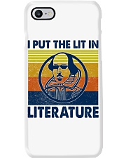 I Put the Lit in Literature Phone Case tile